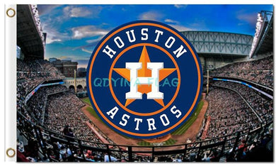 Houston Astros Custom Flags 3x5ft
