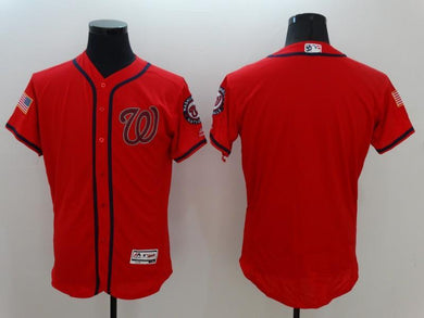 Men Stitched Jersey Washington Nationals blank For Fans