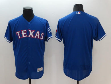 Men Stitched Jersey Texas Rangers blank For Fans