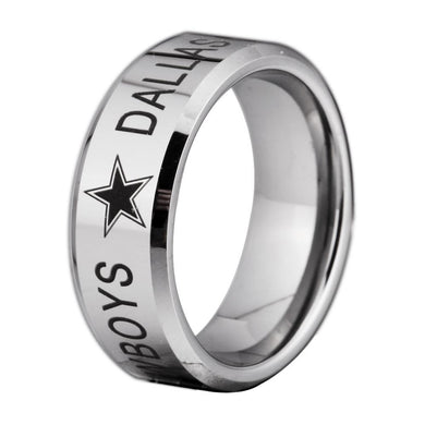8MM Tungsten Dallas Cowboys Championship Ring