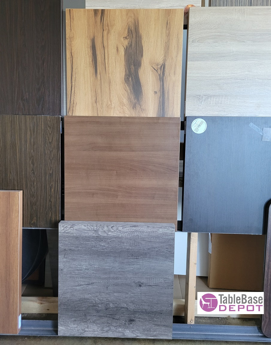 City Urban Extra Thick Laminate Restaurant Table Tops Indoor Use