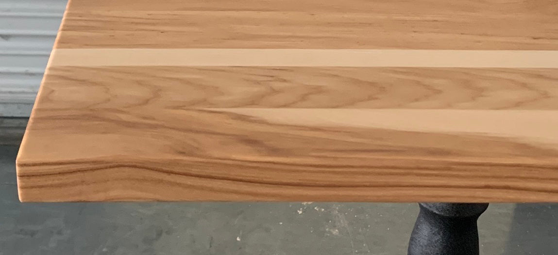 Creamy Heartwood Hickory Restaurant Table Tops