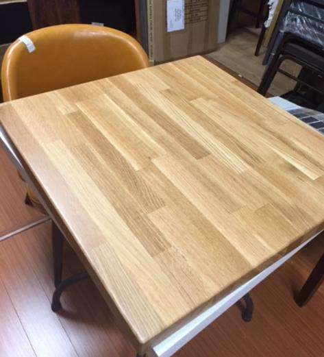 Outstanding American White Oak Natural Finish Butcher Block Table Tops Beutiful Home Inspiration Cosmmahrainfo
