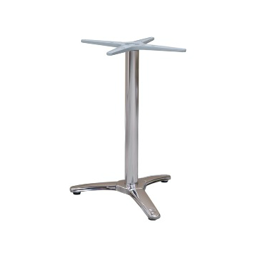 Marcia Aluminum Table Base 3 Prong