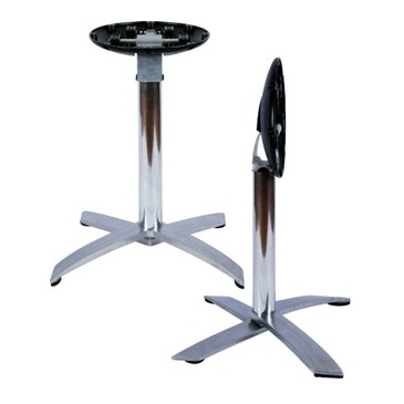 Aluminum Folding Space Saver Table Base 29