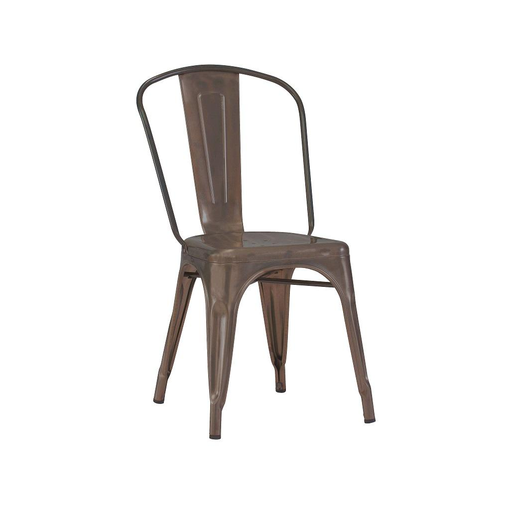 Antique Rusty Industrial Tolix Chair Matte Finish