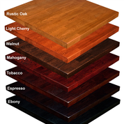 Ash Wood Butcher Block Table Tops 11 Colors