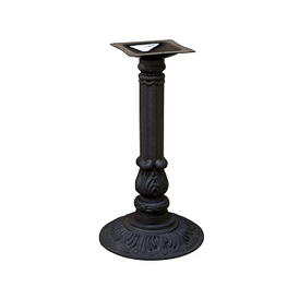 Bar Height Black Victorian Loretta Table Base 15