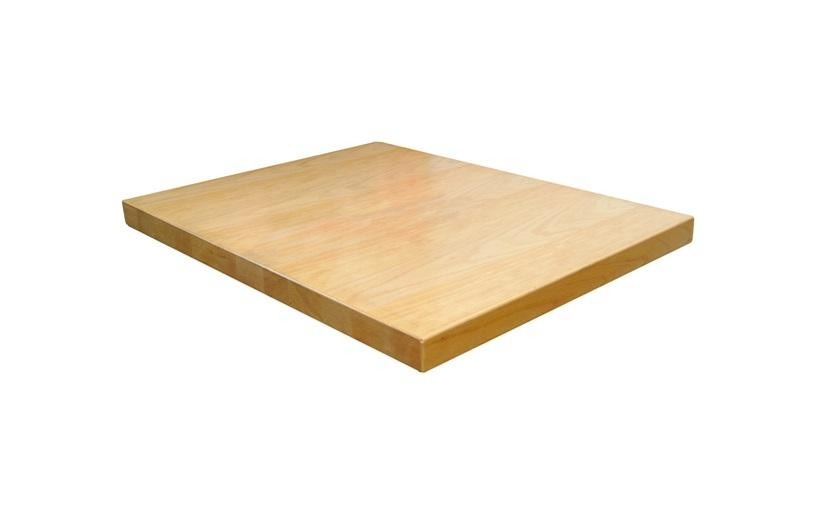 Beechwood Grain Veneer On MDF Table Tops Extra Thick 2 Inch