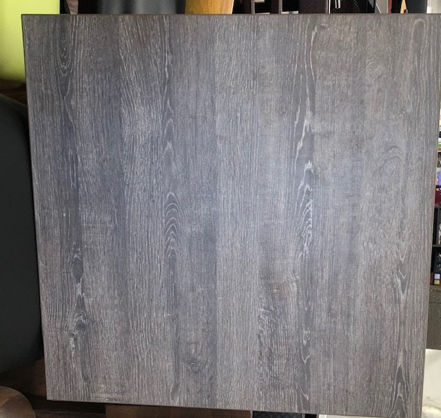 Carbon Graphite Laminate Restaurant Table Top 2inch Thick