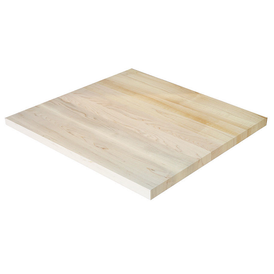 Clean Strip Plank Classic Maple Restaurant Table Top Custom Sizes