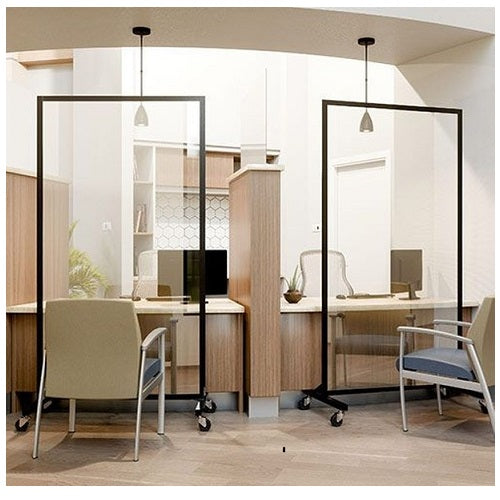 Social Distancing Clear Room Safety Barriers Dividers