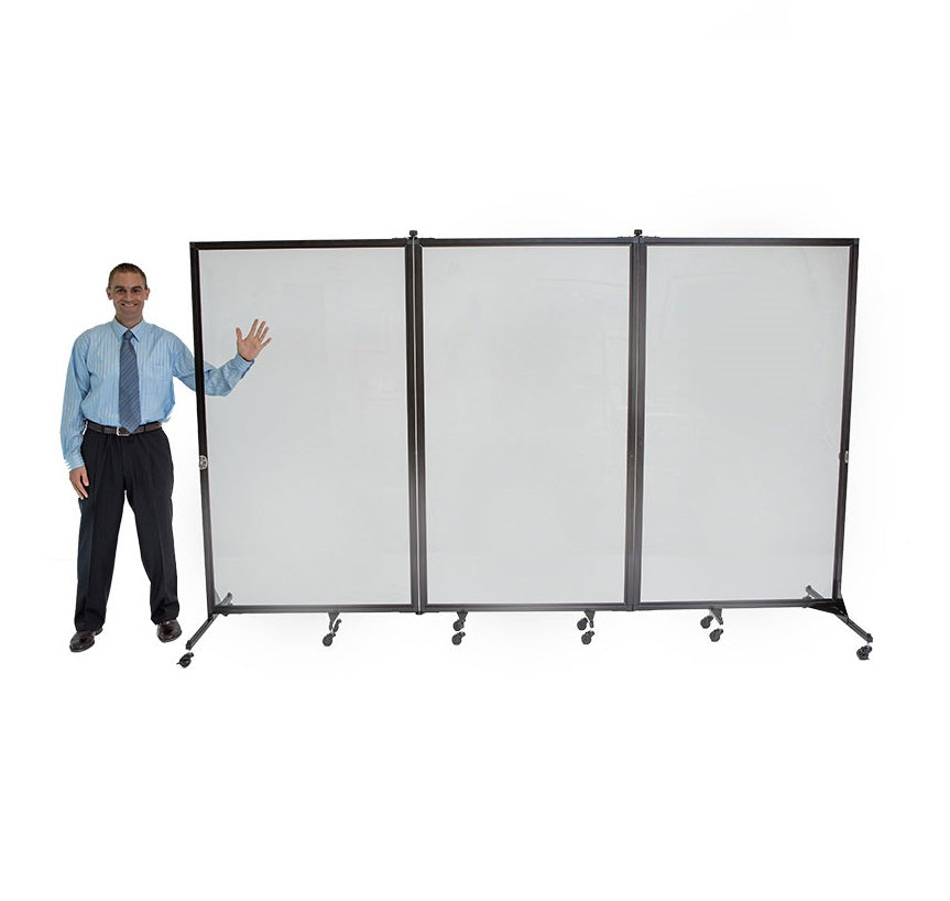 Clear Barriers For Social Distancing Sneeze Guard Safety Dividers