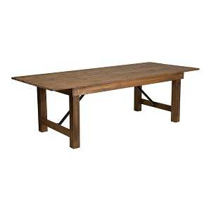 Commercial Grade Barn House Gathering Table