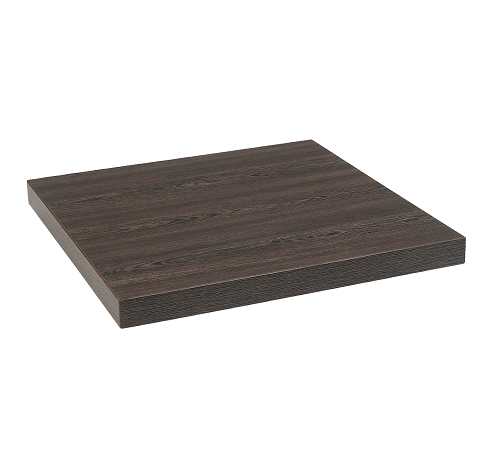 Contemporary Dark Oak Melamine Restaurant Table Top