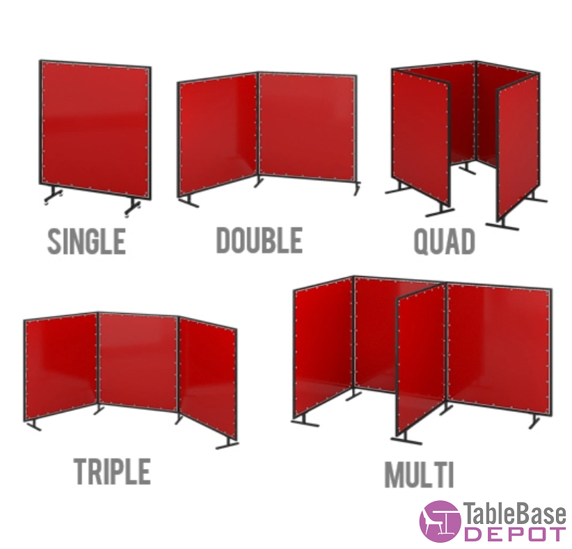Versatile Mobile Fire Retardant PVC Room Divider Partition Fast Setup