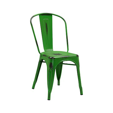 Office Green Weathered Tolix Chair