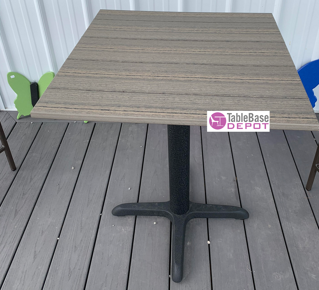 Key Largo Custom Size Outdoor Polycarb Patio Table 23 Colors