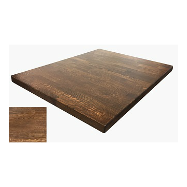 Admirable Medium Walnut Finish White Oak Butcher Block Table Top Beutiful Home Inspiration Cosmmahrainfo