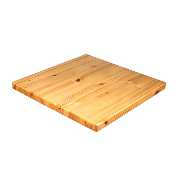 Natural Knotted Solid American Pine Table Tops