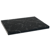 Natural Veining Black Granite Restaurant Table Tops