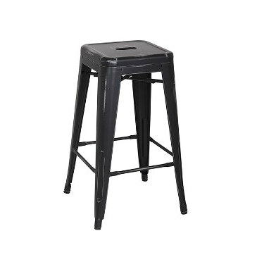 Old Black Antique Counter Height Bar Stool Tablebasedepot