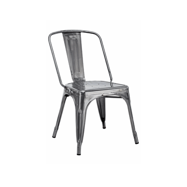 Big Boy Steel Metal Tolix Chair 3 Colors Size XXL
