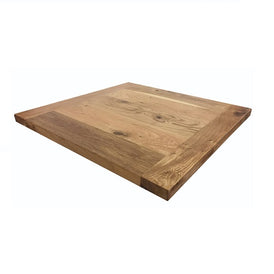 Reclaimed Plank White Oak Natural Satin Finish Indoor Table Top