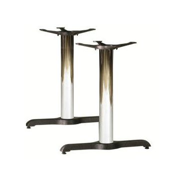 Sierra Chrome and Black END T Table Base 5.22