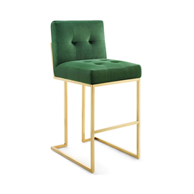 The Royal Glam Deco Upholstered Bar Stool 4 Colors