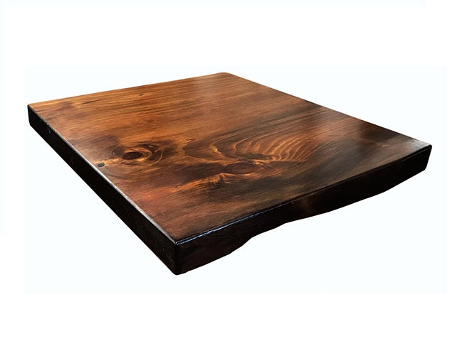 Vintage Pine Live Edge Table Top 2 Inch Thick