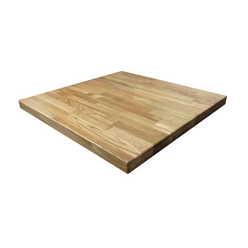 American White Oak Natural Finish Butcher Block Table Tops