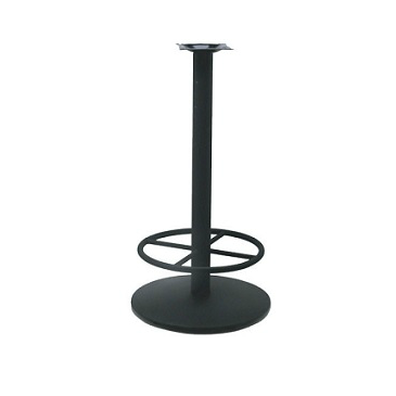 Black Bar Height Table Base 22