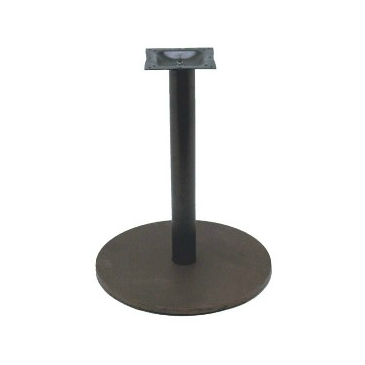 Black Round Bessie Table Base 18