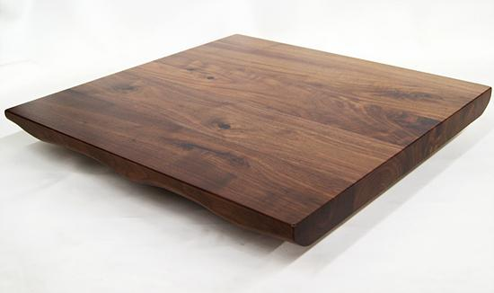 Live Edge Walnut Finish Black Walnut Table Top 2inch