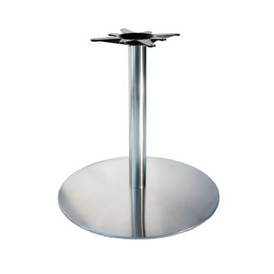 Chrome Pancake Table Base 22