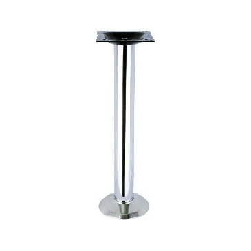 Chrome Traditional Bolt Down Table Base 28