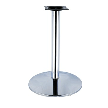 Classic Chrome Bar Height Table Base 2241