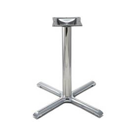 Classic Chrome Criss Cross Table Base