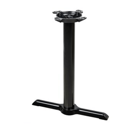Black Classic Criss Cross Table Bases T End Base