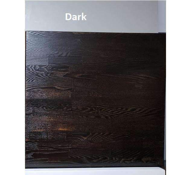 Smoked Carbon Ash Wood Table Tops