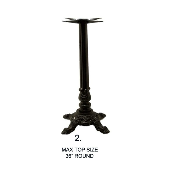 Bar Height Estella Victorian Table Base 24