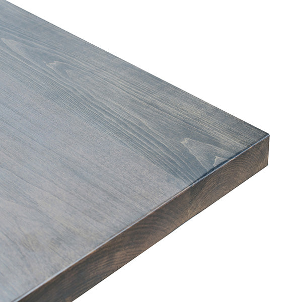 Gray Wash Solid Maple Restaurant Table Tops