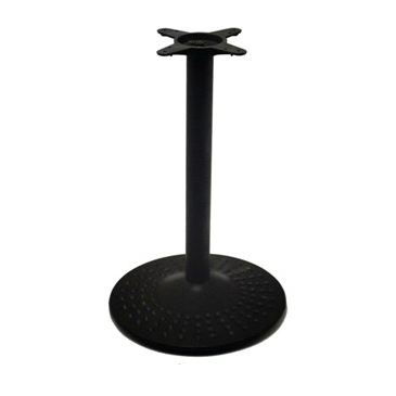 Black Hobnail Round Table Base