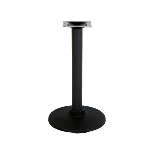 Industrial Black Flange Table Base 22
