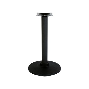 Industrial Black Flange Table Base 17