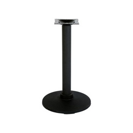 Industrial Black Flange Table Base 30