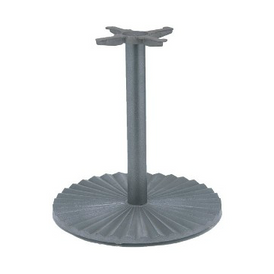 Black Pinwheel Designer Table Base