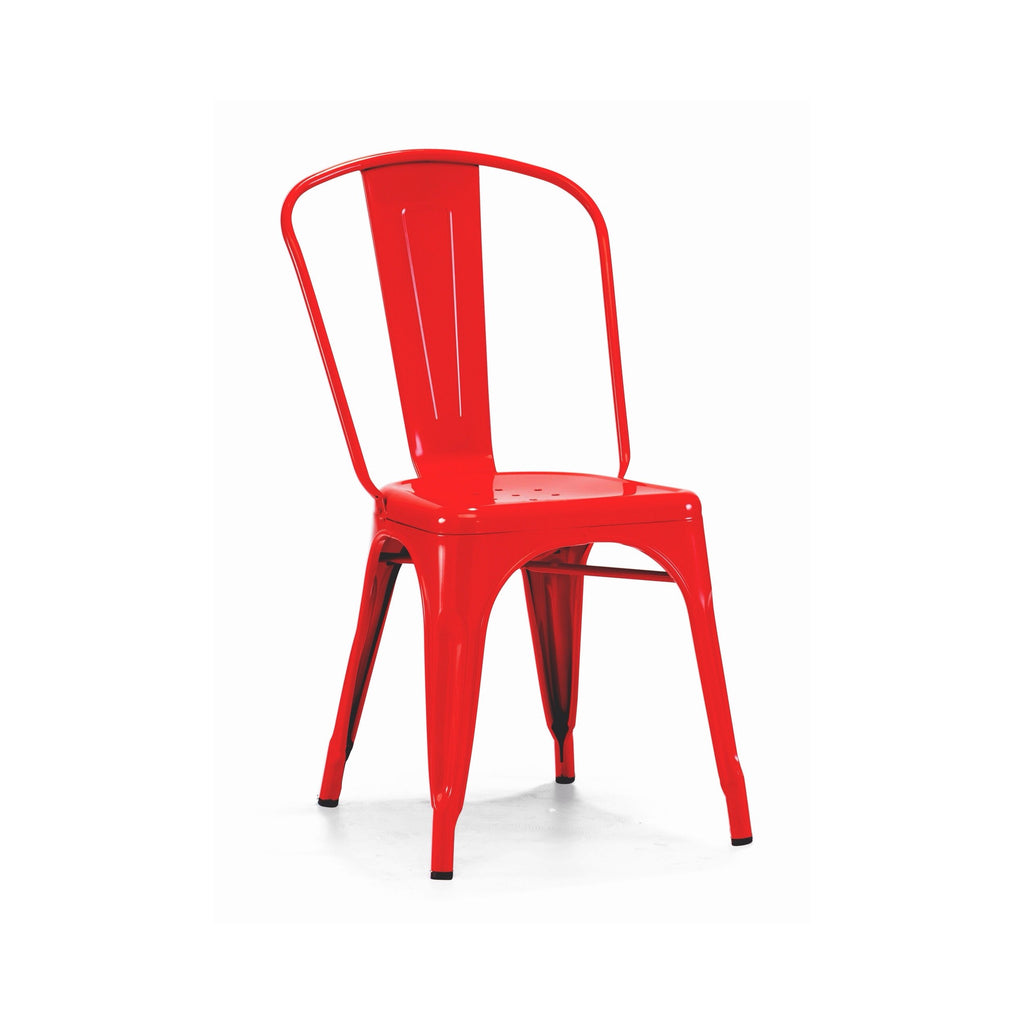 Red Baron Finish Tolix Chair