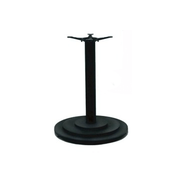Black Round Ring Table Base 22